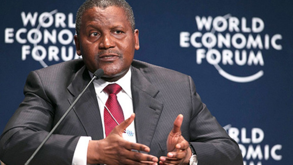 Aliko Dangote (Photo/AFP)
