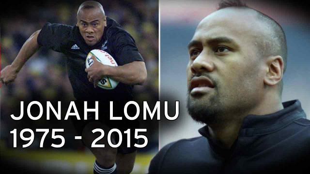 Jonah Lomu from 1975-2015. (Photo/Mirror)