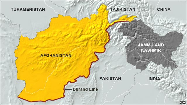 Durand Line of Afghanistan. (Photo/VOA News)