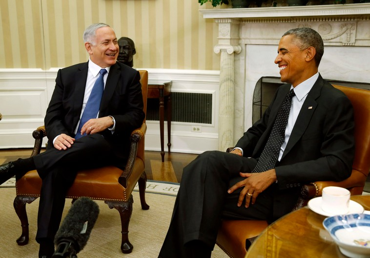 Israeli Prime Minister Benjamin Netanyahu (left) and U.S. President Barack Obama. (Photo/Reuters)
