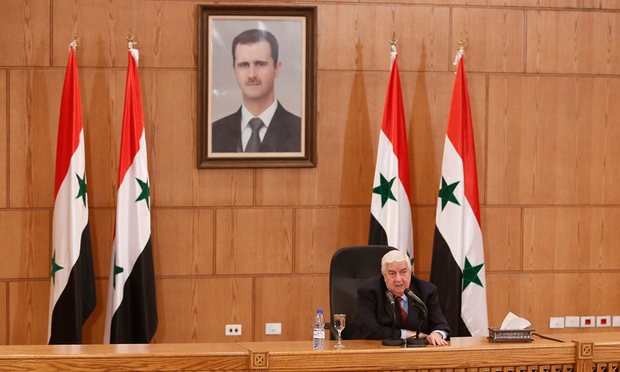Syrian Foreign Minister Walid al-Moallem. (Photo/EPA)