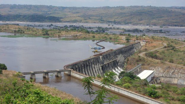 Congo Inga Dam.(Photo/BBC)