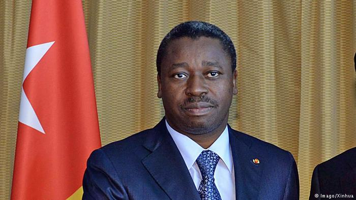 Togo's President Faure Gnassingbe. (AFP)
