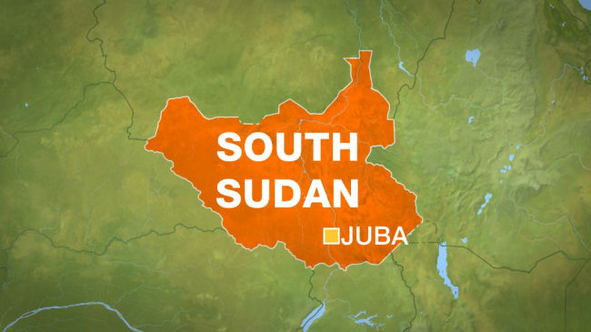 Map of South Sudan. (AFP)