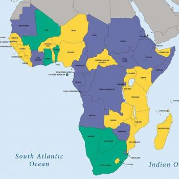 Map of Africa. (AFP)