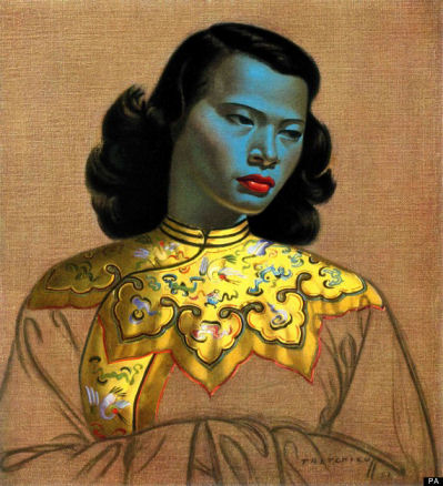 'The Green Lady' by Vladimir Tretchikoff (Huffington Post)