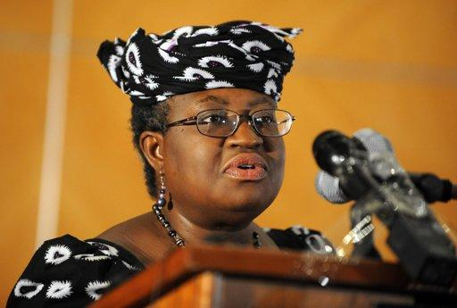 Nigerian Finance Minister Ngozi Okonjo-Iweala, seen here in 2011, is currently not pursuing the World Bank's top job, her spokesman said Wednesday, amid reports that her name was being put forth as a candidate. (Photo AFP/Pius Utomi Ekpei)