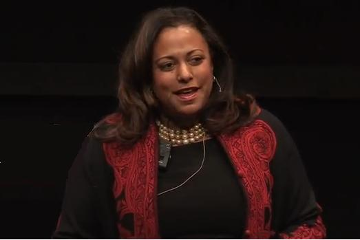 Teresa H. Clarke is the CEO of Africa.com (Image TEDx)